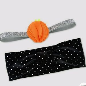 🎄🎄Baby girls 2 pack headwrap by carters